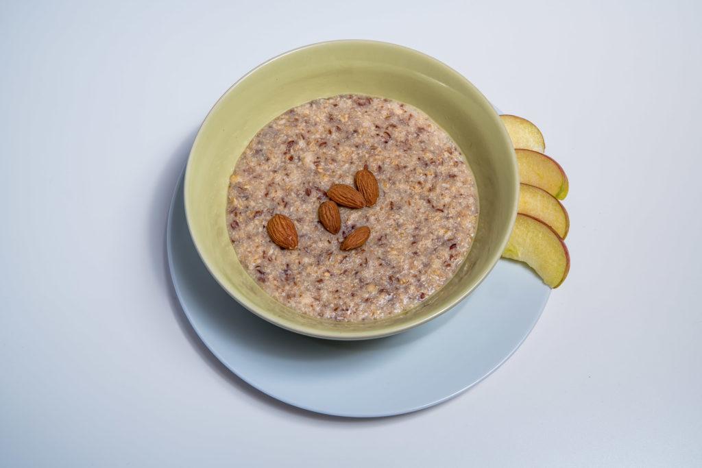 Das fertige Englische Porridge Rezept