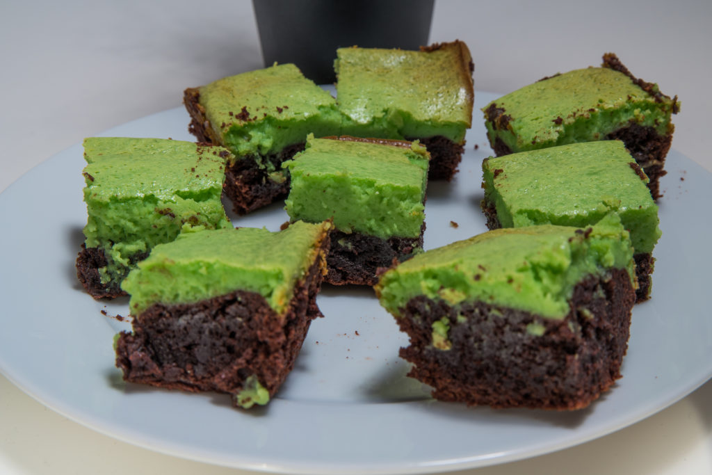 Das fertige Baileys Käsekuchen Brownies Rezept