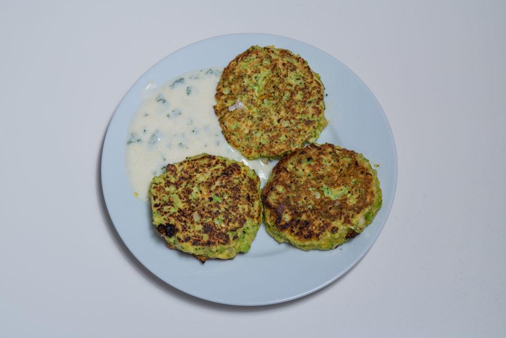 Das fertige Broccolitaler mit Parmesan Rezept