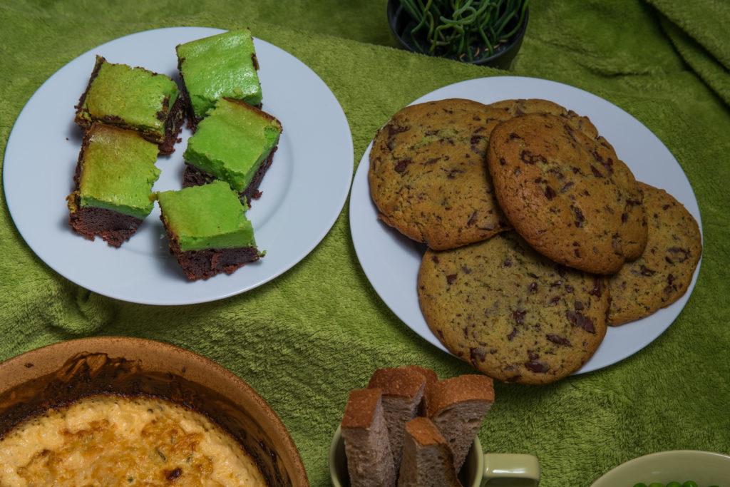 Das fertige irische Menü für St. Patrick's Day