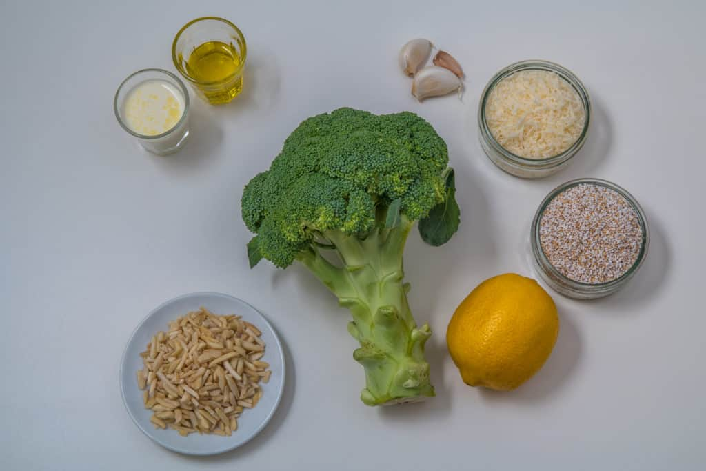 Das fertige Broccoli mit Amaranth Pesto Rezept
