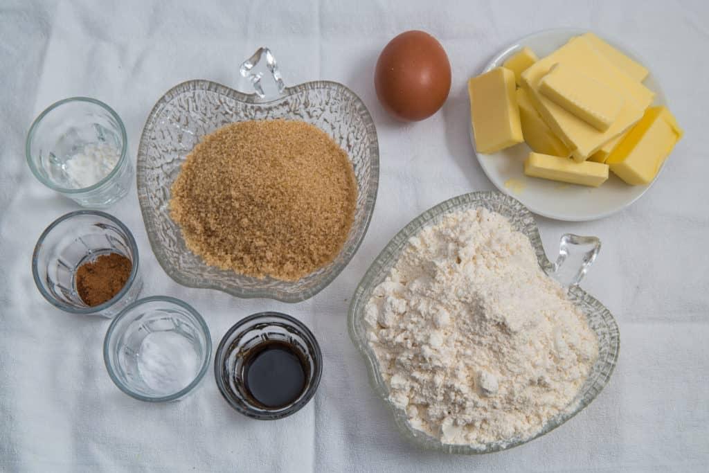 Zutaten für das Mini Kuerbis Whoopie Pies mit Zimtfuellung Rezept