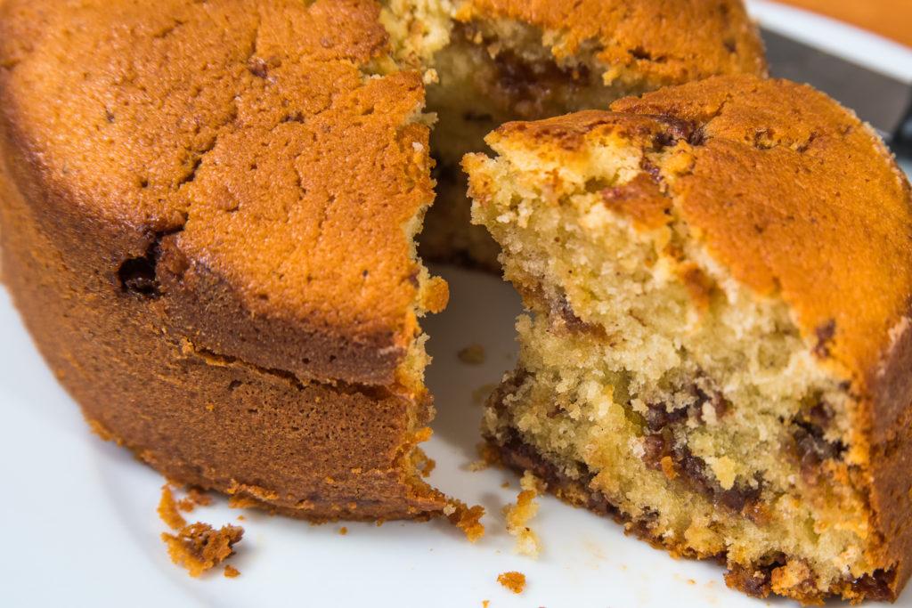 Mini Daim Kuchen Mit Mandeln Und Joghurt Rezept Karamelisierte