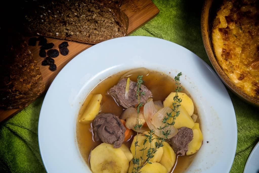 Das fertige Irischer Eintopf Rezept