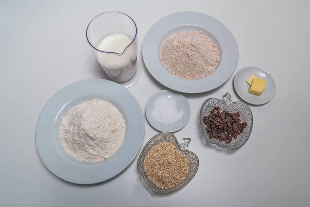 Zutaten für das Irisches Sodabrot Rezept