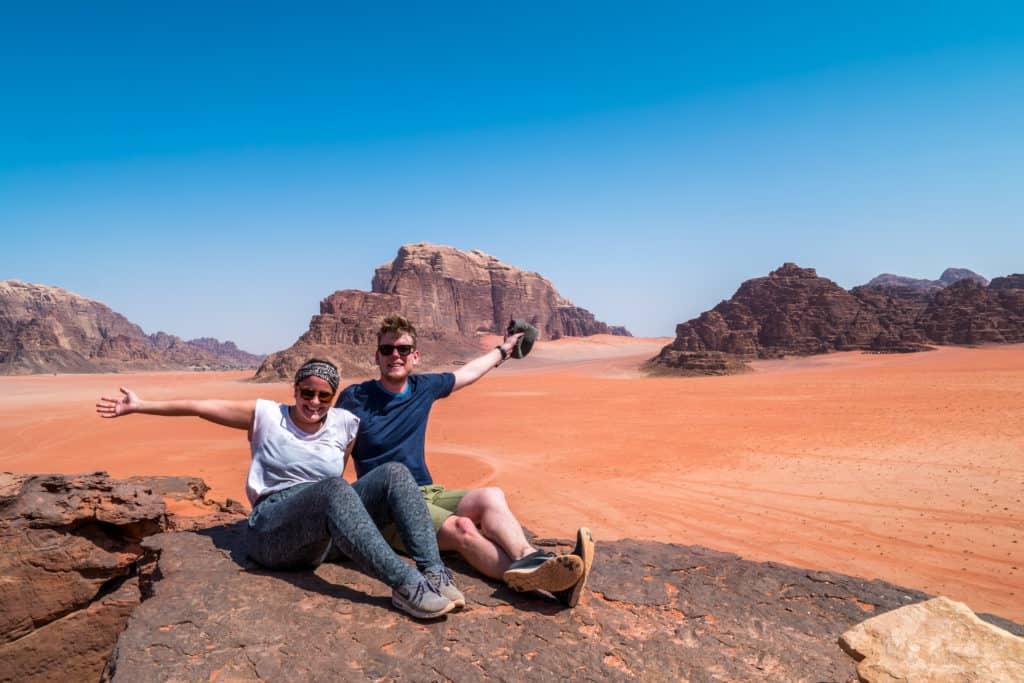 Lia & Liam in Jordanien