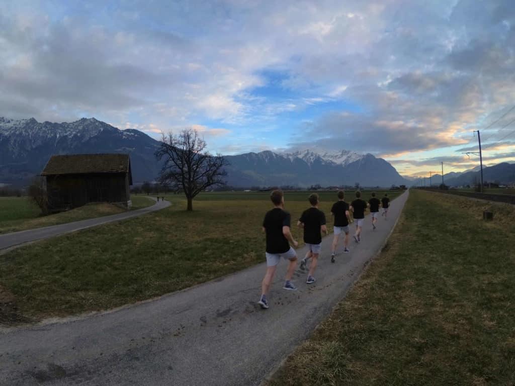 Liam läuft den Marathon – Wieder auf dem richtigen Weg