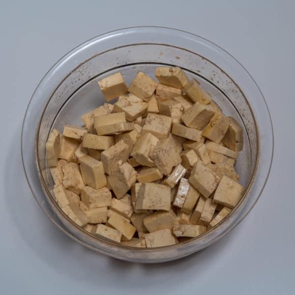 Zubereitung des Tofu Knusperli Rezepts