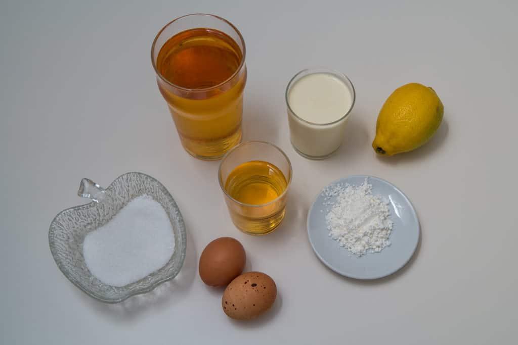 Zutaten für das Apfelcrème Rezept