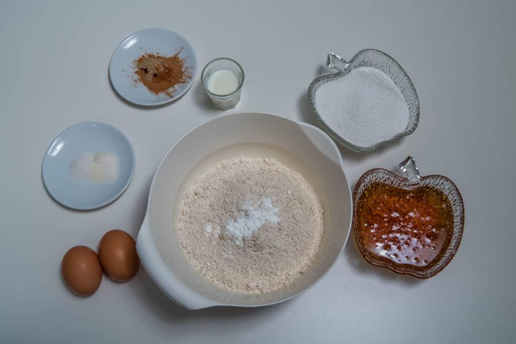 Zutaten für den Teig des Appenzeller Biberli Rezepts