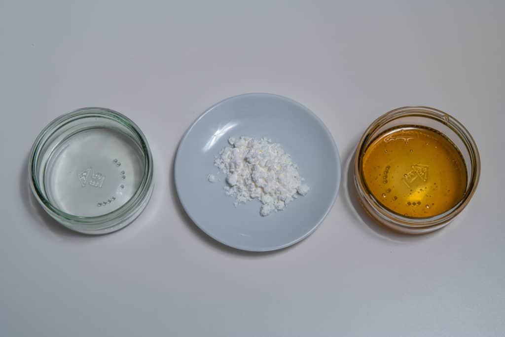 Zutaten für die Glasur des Appenzeller Biberli Rezepts