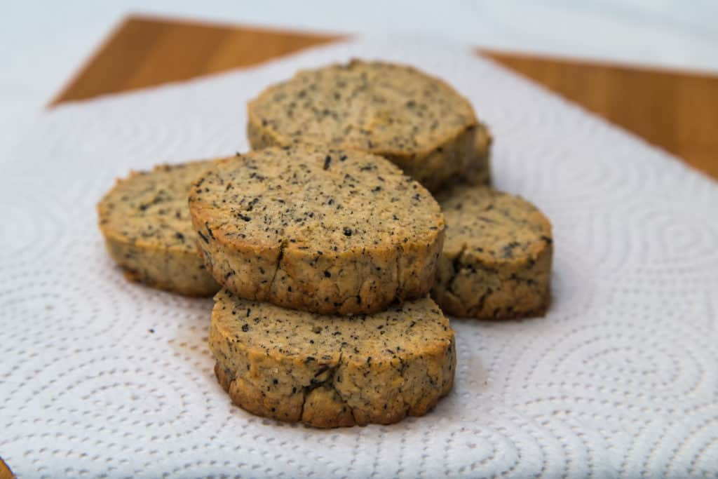 Das fertige Earl Grey Kekse Rezept