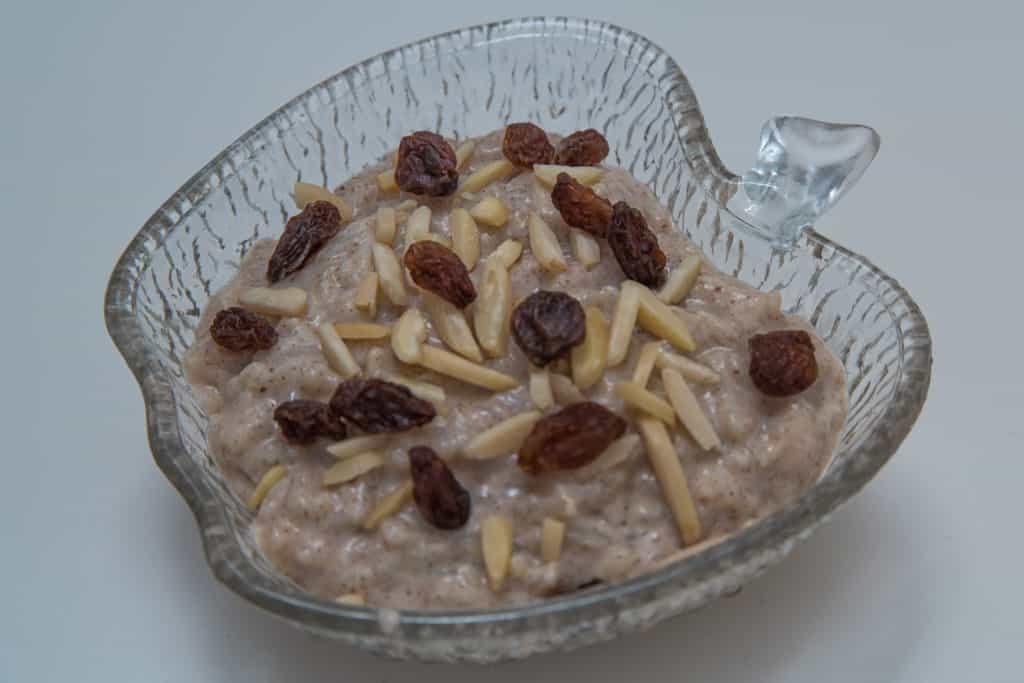 Das fertige Finnisches Milchreis (Riisipuuro) Rezept