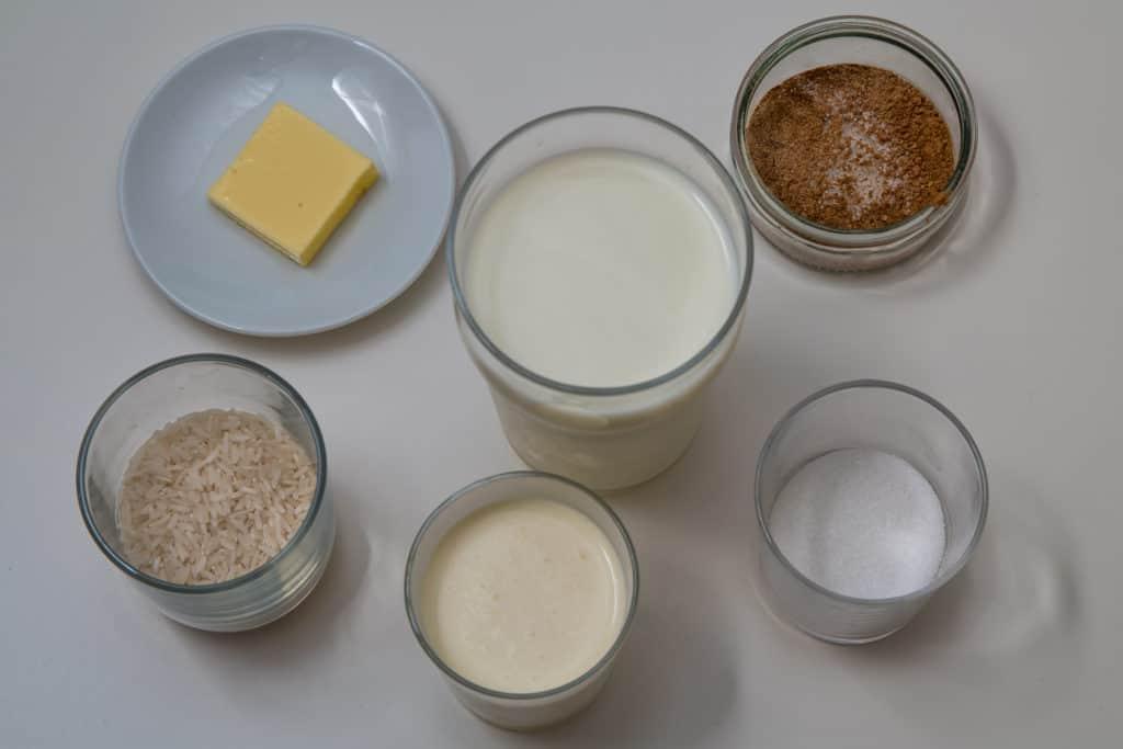 Zutaten für das Finnisches Milchreis (Riisipuuro) Rezept