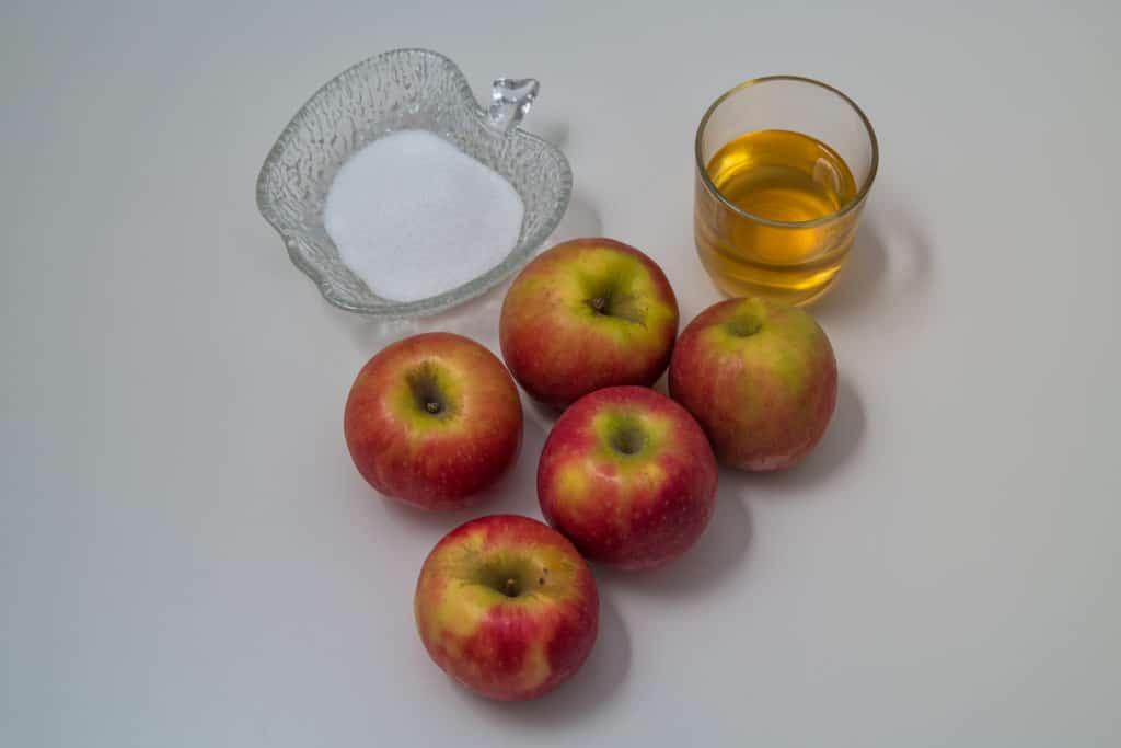 Zutaten für das Apfelmus Rezept
