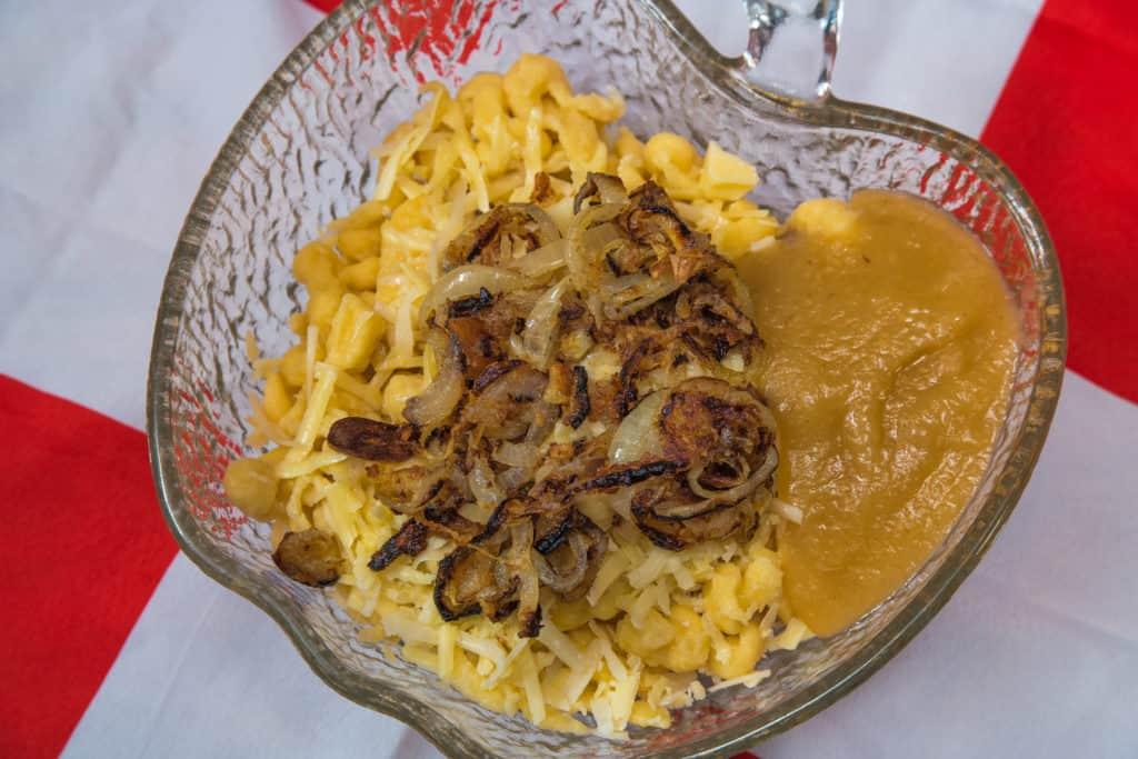 Das fertige Schweizer Chäschnöpfli Rezept