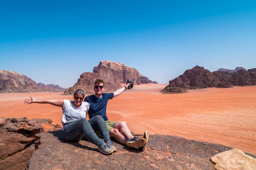 Lia & Liam in der Wüste